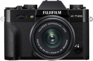 Fujifilm X-T20 + XC15-45mm - zwart