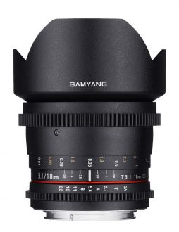 Samyang Optics 10mm T3.1 ED AS NCS CS VDSLR Canon M