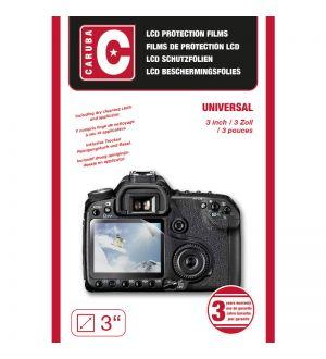 Caruba LCD Cover Universeel. 3,0 Inch