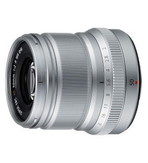 Fujifilm XF50mm F2.0 WR - zilver