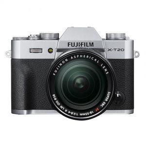 Fujifilm X-T20 + 18-55mm OIS - zilver