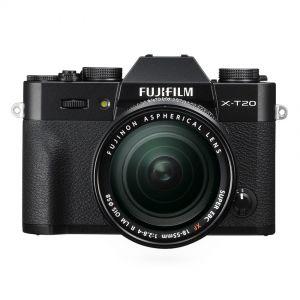 Fujifilm X-T20 + 18-55mm OIS - zwart