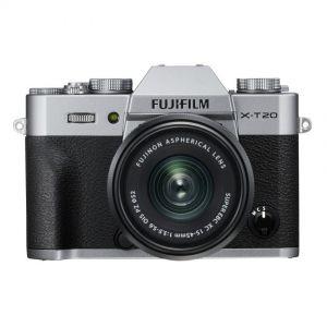 Fujifilm X-T20 + XC15-45mm - zilver