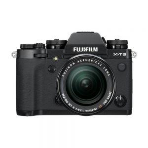 Fujifilm X-T3 + 18-55mm f/2.8-4.0 OIS - zwart