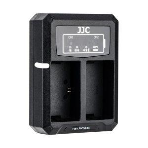 JJC DCH-LPE6 USB Dual Battery Charger (for LP-E6 / LP-E6N)