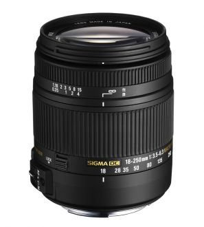 Sigma 18-250mm F3.5-6.3 DC MACRO OS HSM Canon AF