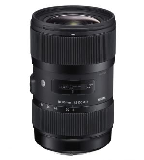 Sigma 18-35mm F1.8 DC HSM (A) Canon
