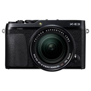 Fujifilm X-E3 incl 18-55mm - zwart
