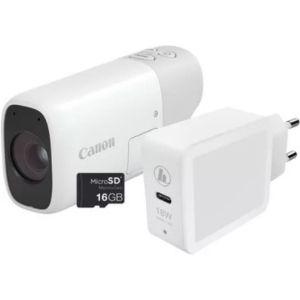 Canon Powershot ZOOM White Essential Kit