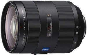 Sony SAL 24-70mm/F2.8 Vario-Sonnar T Carl Zeiss SSM II met Gratis Sony LA-EA5