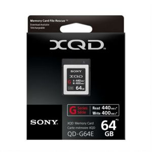 Sony XQD high speed 64gb R440 W400