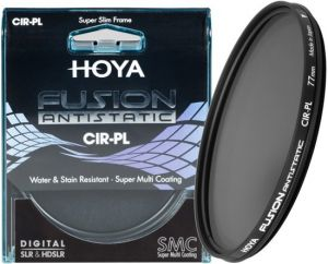 Hoya 62mm Fusion antistatic Circulair Polarisatie filter pre