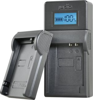 Jupio USB Brand Charger Kit For Fuji/Olympus/Nikon 7.2V-8.4V batteries