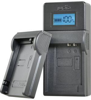 Jupio USB Brand Charger Kit For Canon 3.6V-4.2V batteries