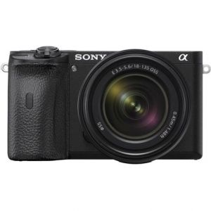 SONY A6600 BODY ZWART + 18-135MM F/3.5-5.6 OSS