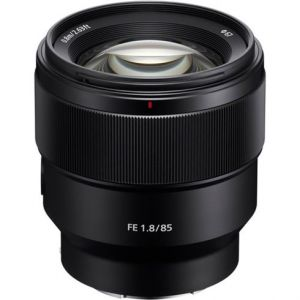 Sony SEL 85mm/F1.8 Full Frame Mid-telephoto prime lens Occasion