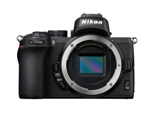 Nikon Z 50  + NIKKOR Z DX 16-50mm f/3.5-6.3 VR-objectief + FTZ-adapter