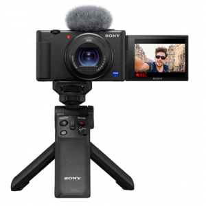 Sony DCS ZV-1 +  Sony GP-VPT2BT Bluetooth Vlogging Grip