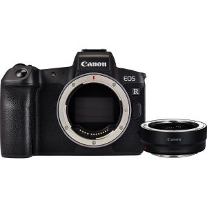Canon EOS R body + EF to RF adapter