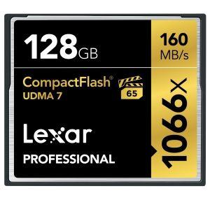 Lexar CF Professional UDMA7 1066x 128GB