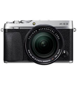 Fujifilm X-E3 incl 18-55mm - zilver