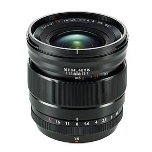 Fujifilm XF16mm F1.4 R WR - zwart