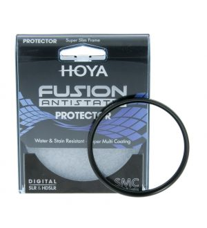 Hoya 62mm Fusion antistatic Protector Filter Premium Line