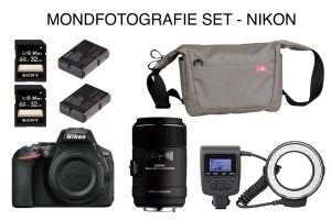 Mondfotografieset Nikon