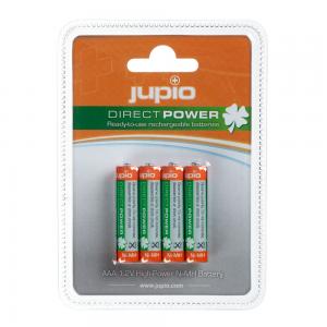 Jupio herlaadbare AAA batterijen 4 stuks 850 mAh