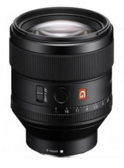 Sony SEL 85mm/F1.4 G Full Frame
