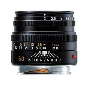 Leica 50mm f/2 Summicron-R