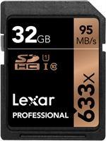 Lexar SDHC Professional UHS-I 633x 32GB