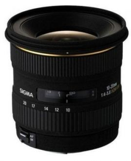 Sigma 10-20 mm F4 -5.6 EX DC HSM Canon Occasion