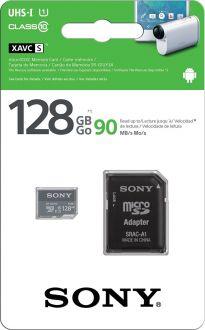 Sony ultra micro SDHC 128GB Class 10 (incl. SD adaptor)