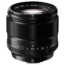 Fujifilm XF56mm F1.2 - zwart