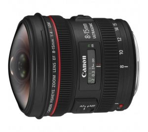Canon EF 8-15mm/F4.0L USM Fisheye Occasion