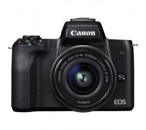 Canon EOS M50 met M15-45 S Black