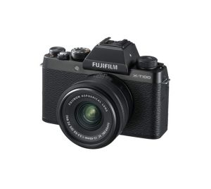 Fujifilm X-T100 + XC15-45mm Kit - zwart