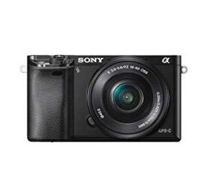 Sony A6000 + 16-50mm Black