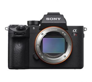 Sony A7R III body 4K camera